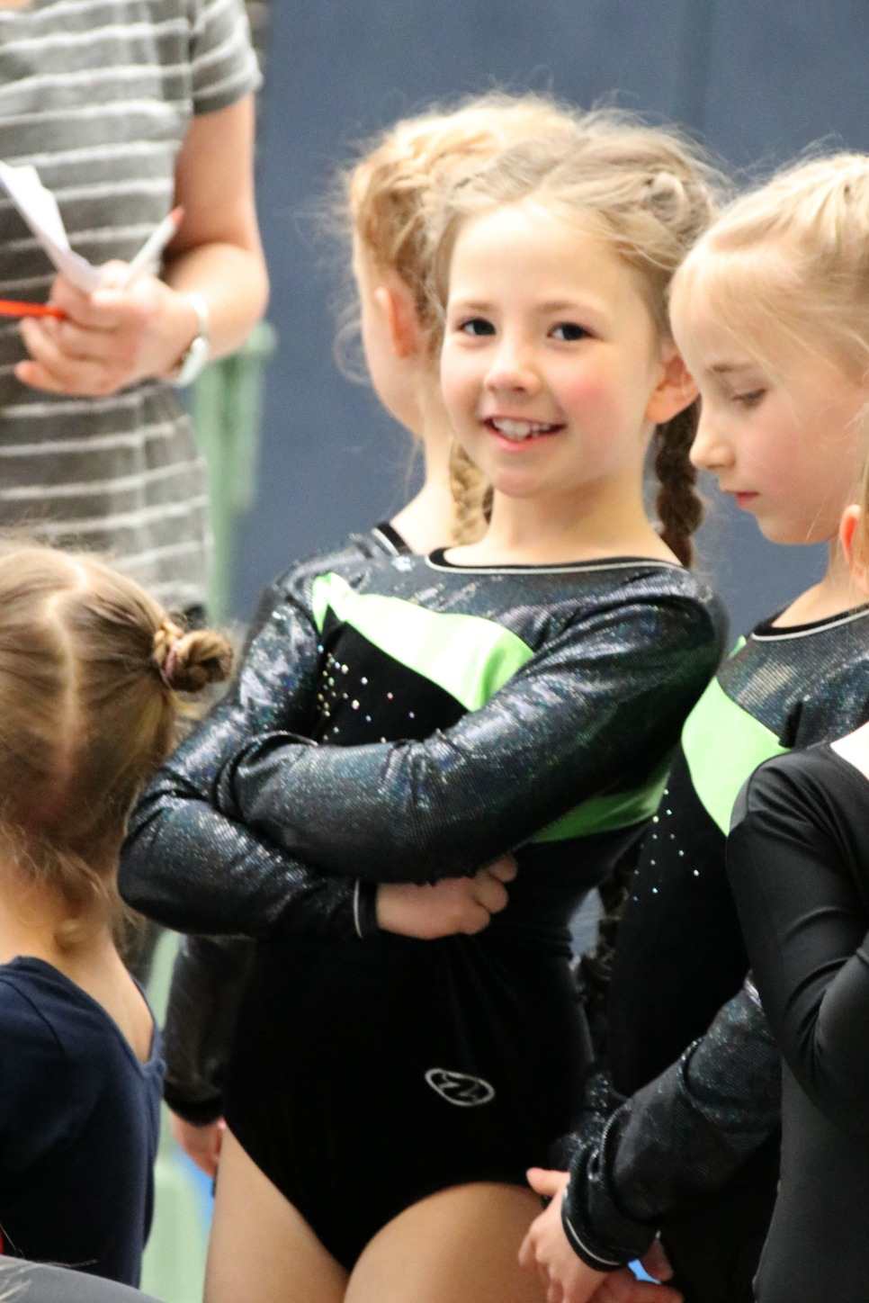 Amy's first gymnastics competition 4