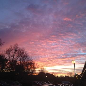 Sunrise over Fleet