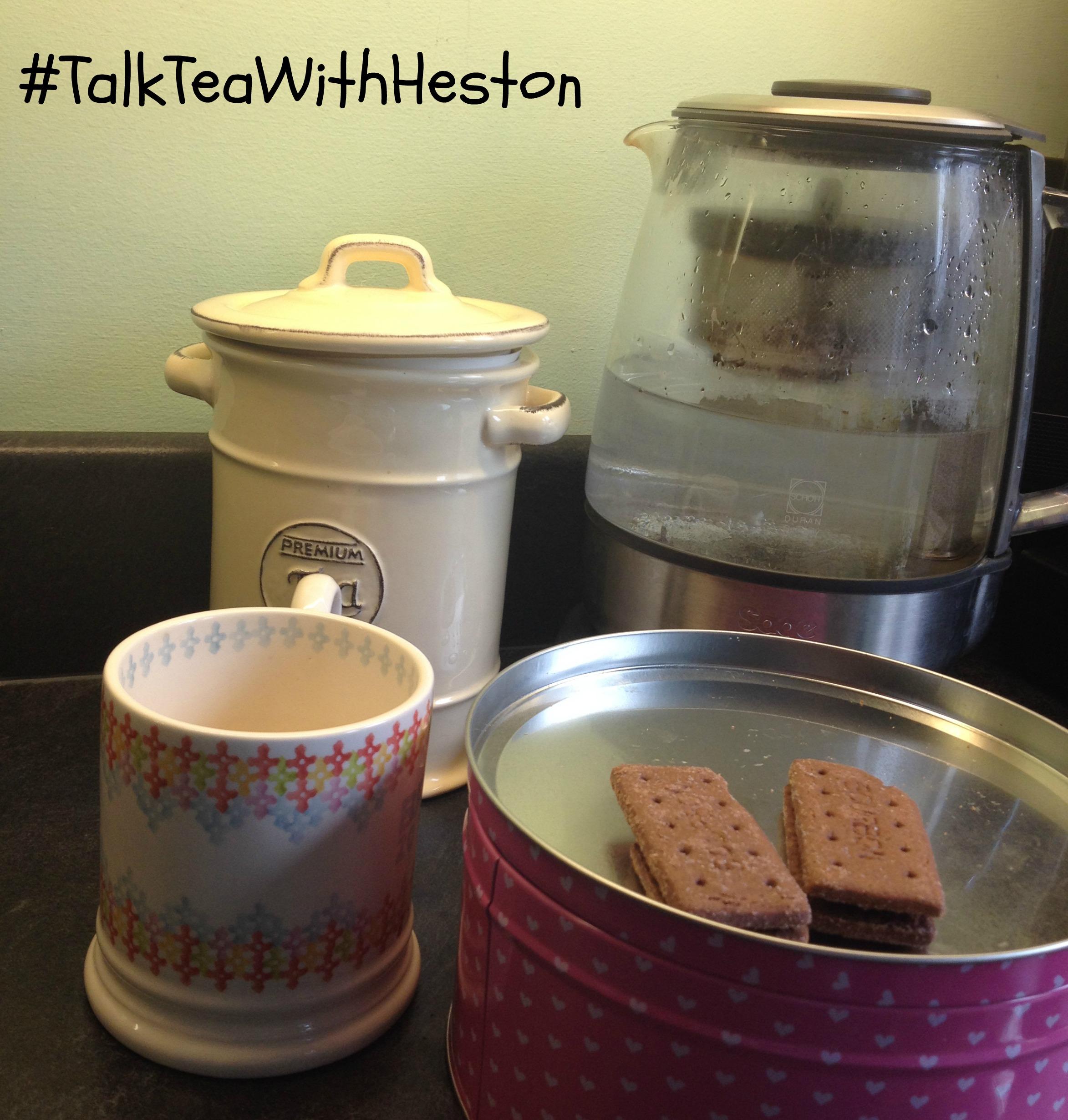 #TalkTeaWithHeston