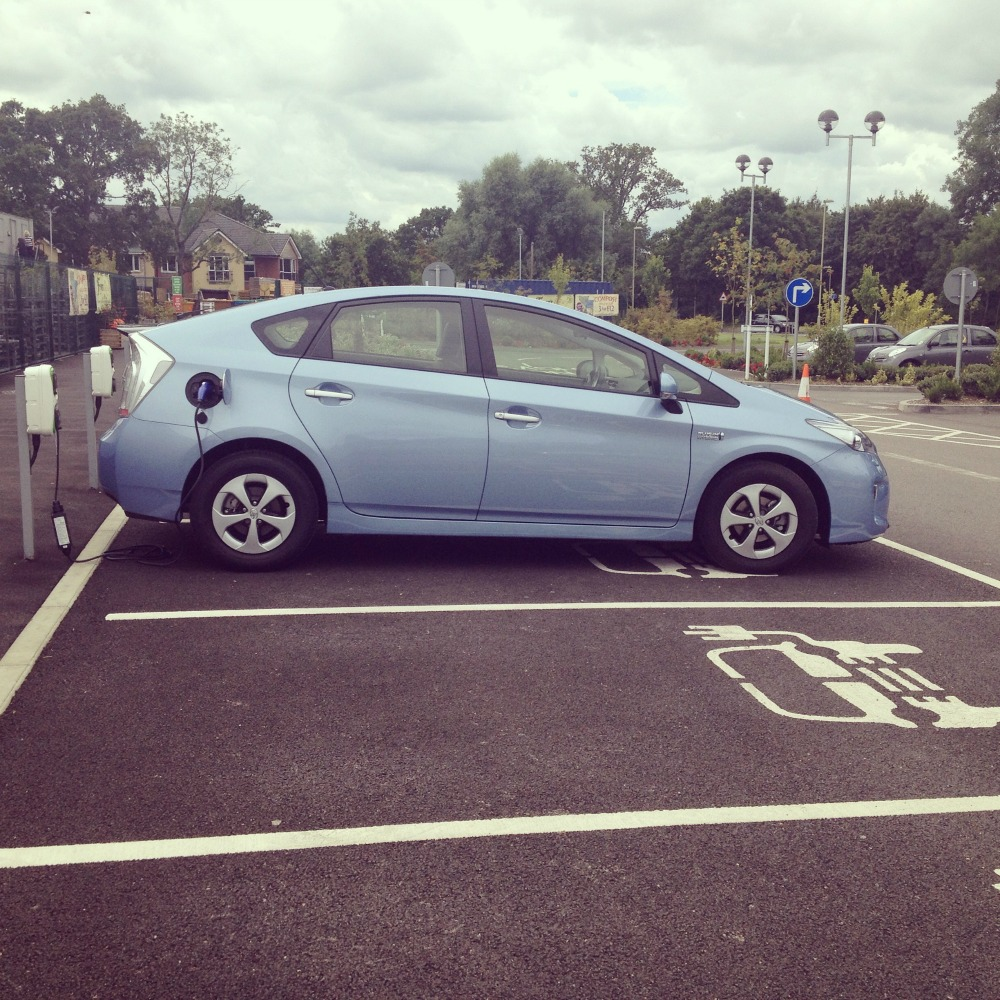 Charging at Redfields