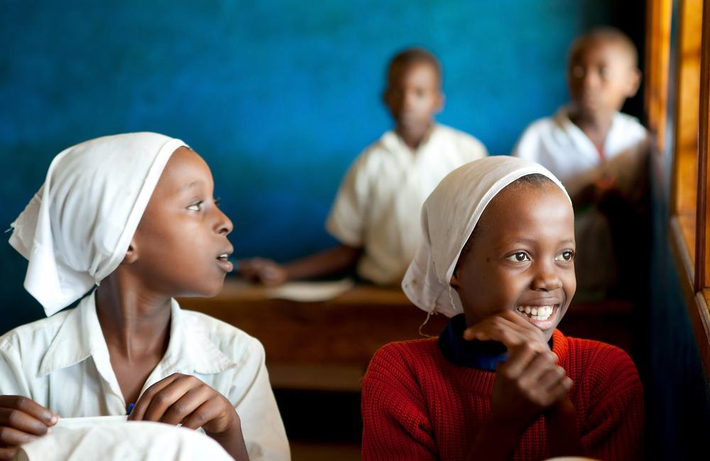 Kenyan school children