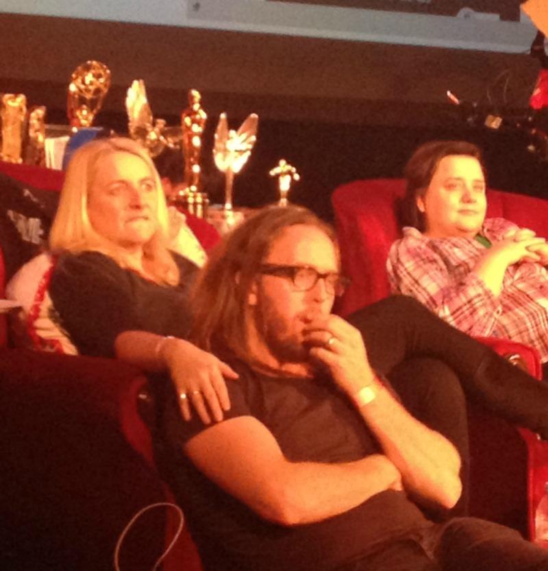 Emma Kennedy, Susan Calman and Tim Minchin at Mark Watson's comedy gig