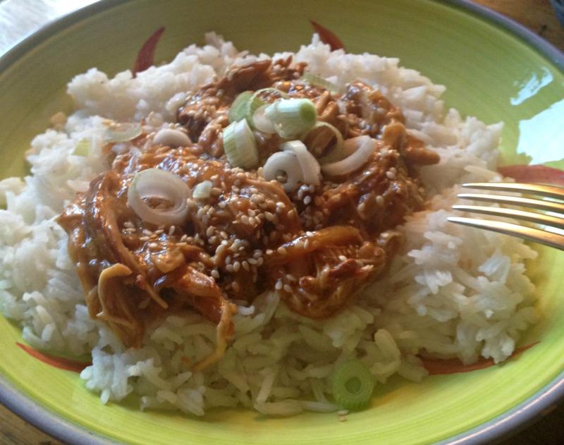 Slower Cooker Teriyaki Chicken