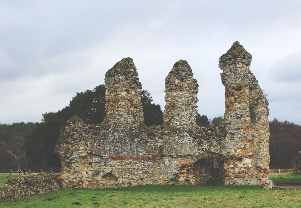 Waverley Abbey English Heritage