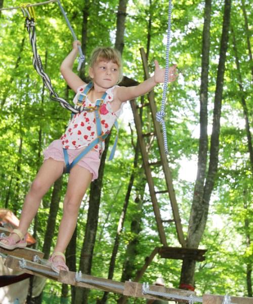 Children taking risks
