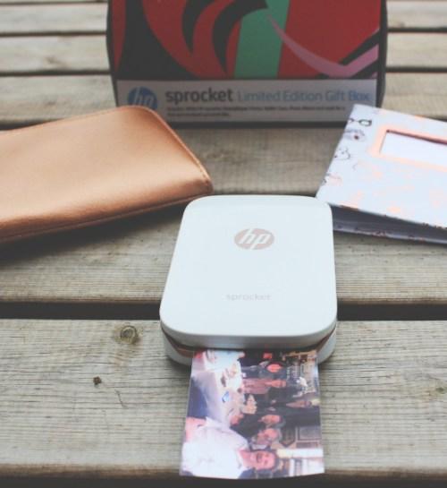 HP, Sprocket, pocket printer