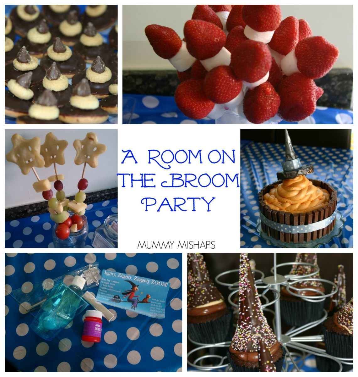 A Room on the broom birthday party and cake