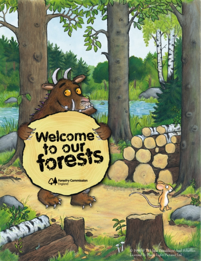 FC Gruffalo-welcome to our forests (portrait)