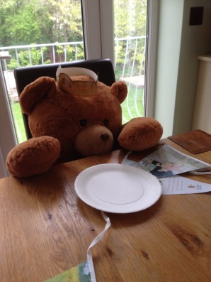 guest of honour - a bear!