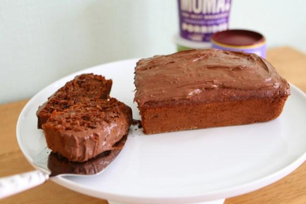 Chocolate Chai Latte Porridge Loaf Cake