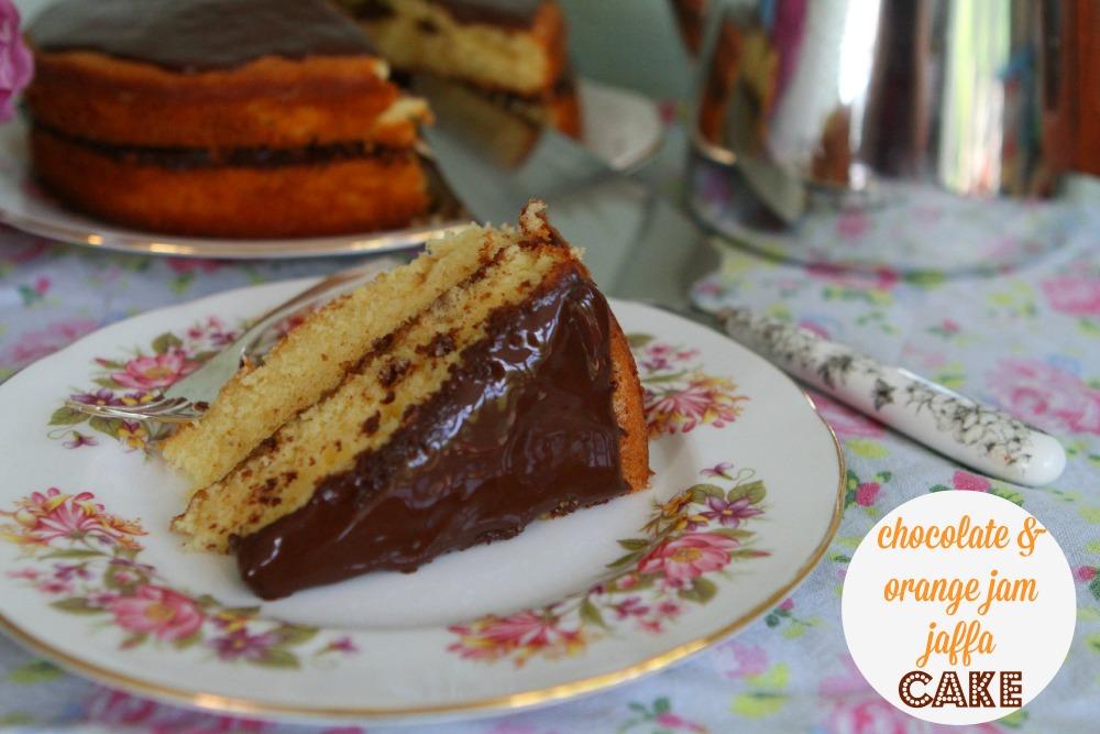 Chocolate & Orange Jam Jaffa Cake
