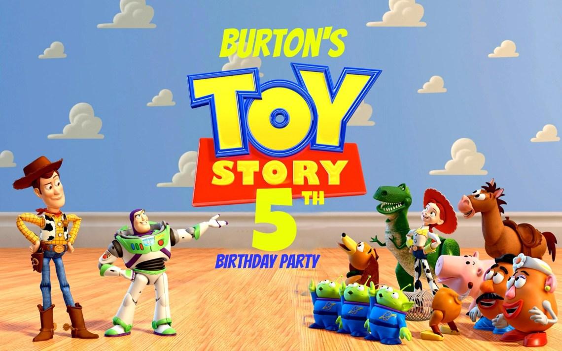 toy story invite