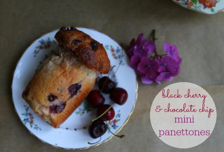 Black Cherry & Chocolate Chip Mini Panettones