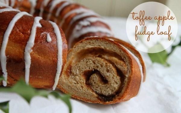 Toffee Apple Fudge Loaf (Great Bloggers Bake Off 2014 #Week8)