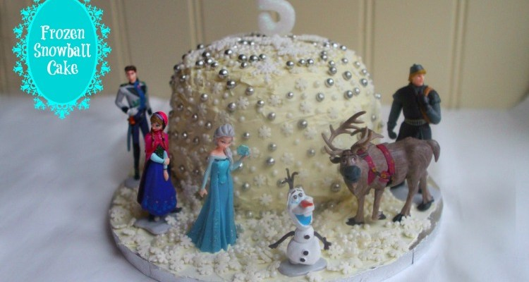 Disney's Frozen Snowball Cake