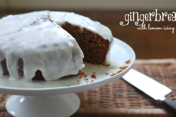 Gingerbread with Lemon Icing