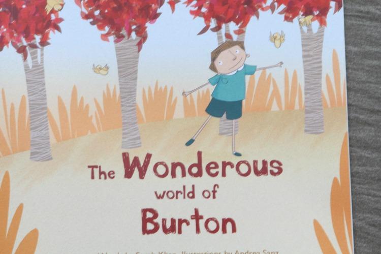 The Wonderous World Of Burton and Jenson (Wonderous Ink Personalised Books Review)