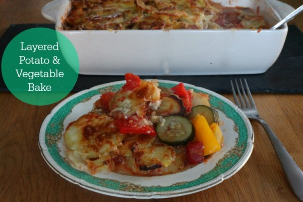 Layered Potato & Vegetable Bake
