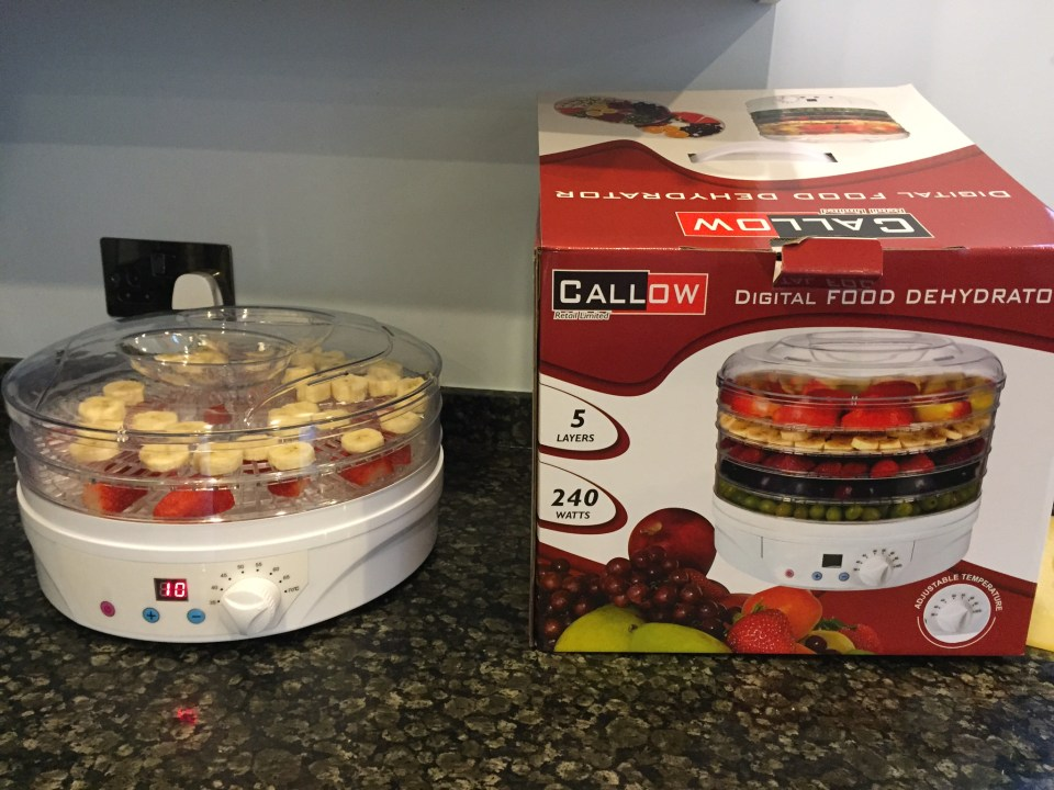 Callow Digital Food Dryer and Dehydrator – Review, Recipe & Give Away