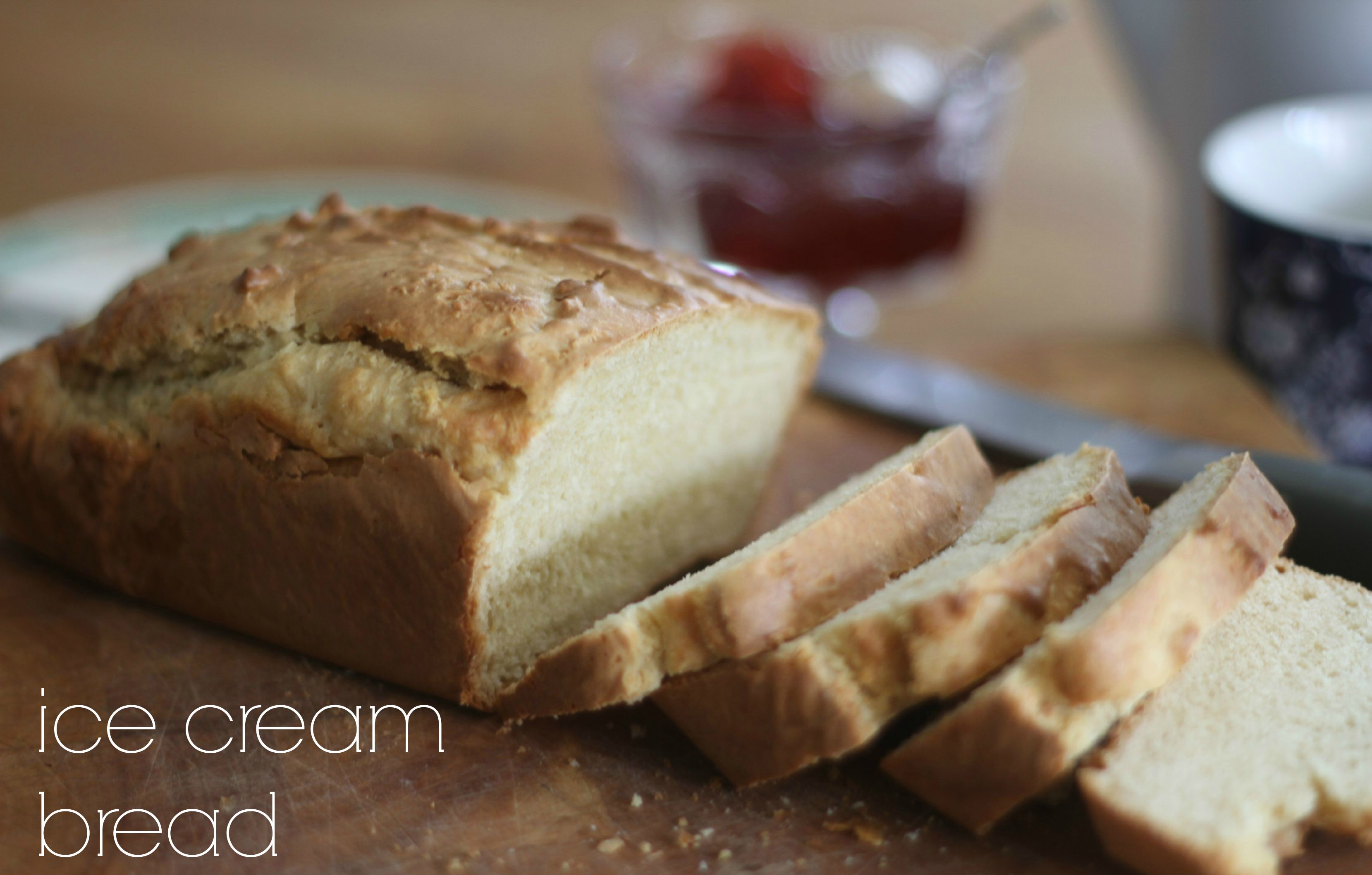 Ice Cream Bread #GBBO Bloggers 2015