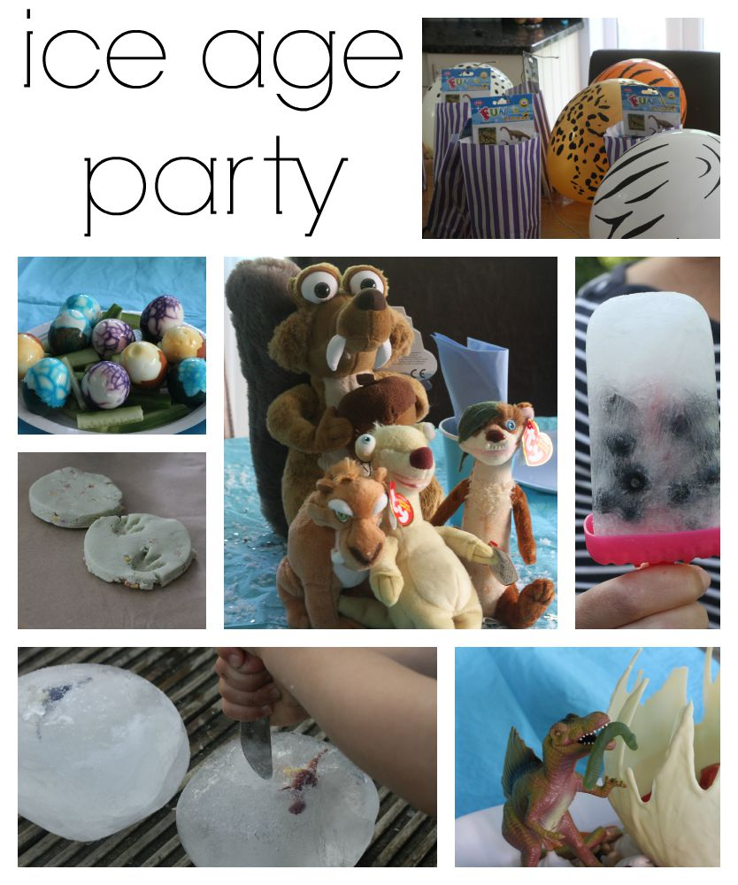 Ice Age Party Mummy Mishaps