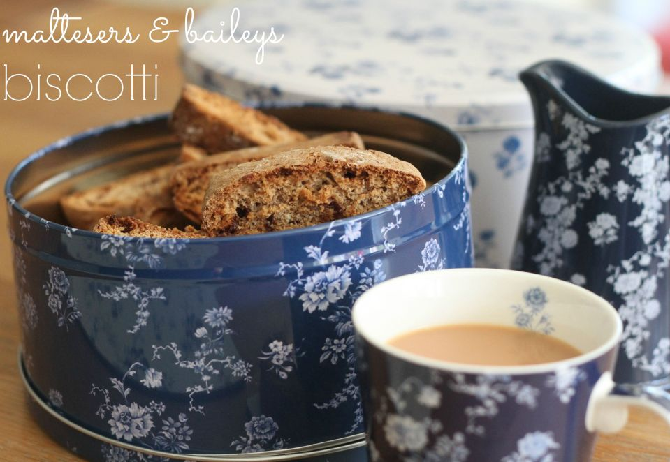 Maltesers & Baileys Biscotti (#GBBO Bloggers 2015)
