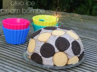 Oreo Ice Cream Bombe