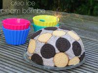 Oreo Ice Cream Bombe