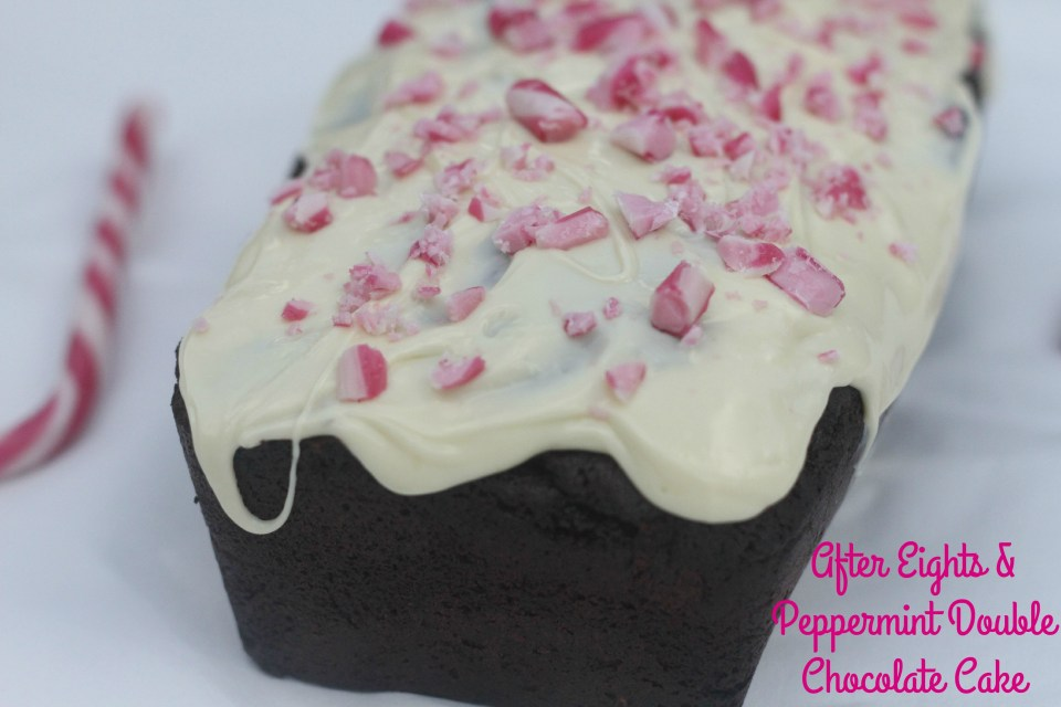 After Eights & Peppermint Double Chocolate Cake