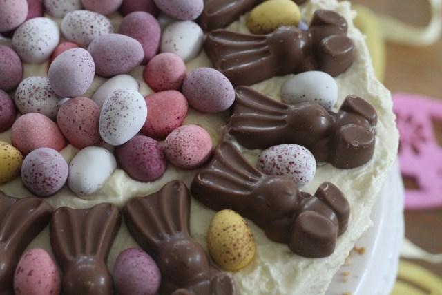 MaltEaster Bunny & Mini Egg White Chocolate Cheesecake