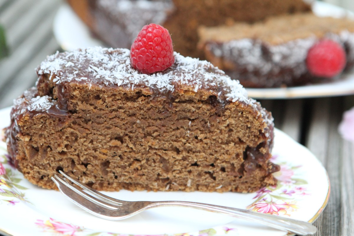 Sweet Potato (No Added Sugar) Chocolate Cake