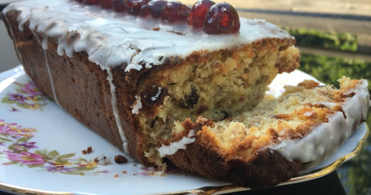 Apple & Muesli Ginger Loaf Cake