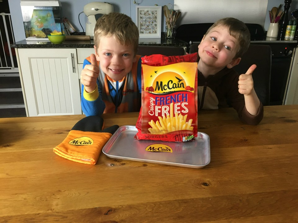 #Friesday: Cooking with your kids and McCain Crispy French Fries.
