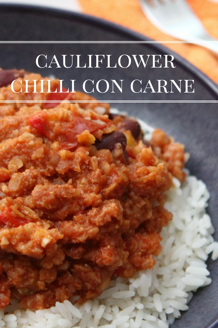 Cauliflower Chilli Con Carne