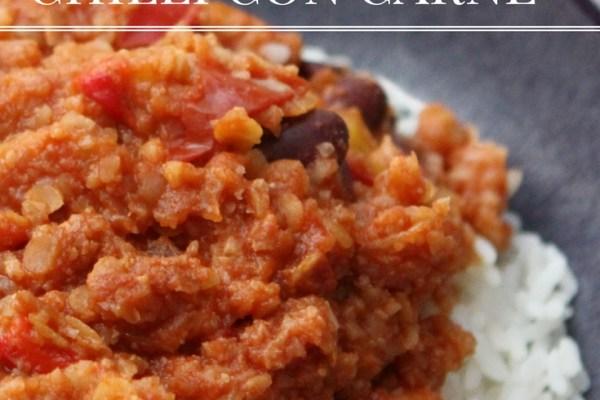 Cauliflower Chilli Con Carne