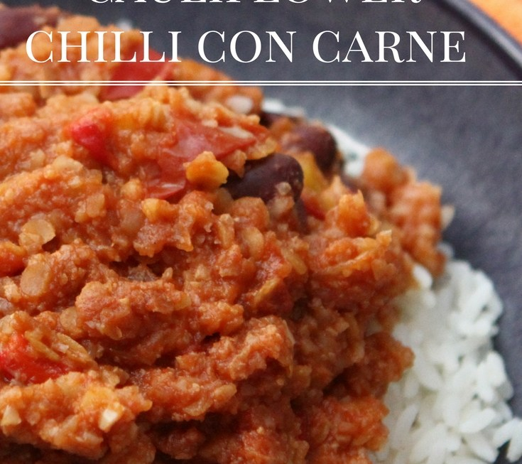Quorn Chilli Con Carne >> Cauliflower Chilli Con Carne