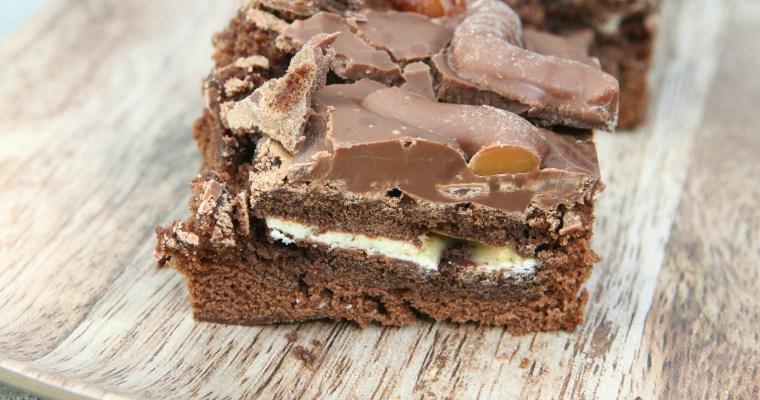 Pick Up Chocolate Brownies