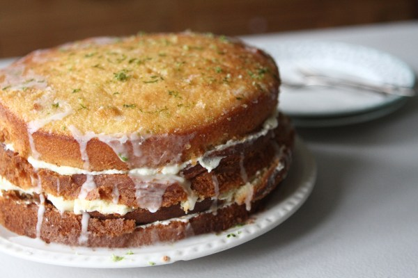 Gin and Tonic Layer Cake