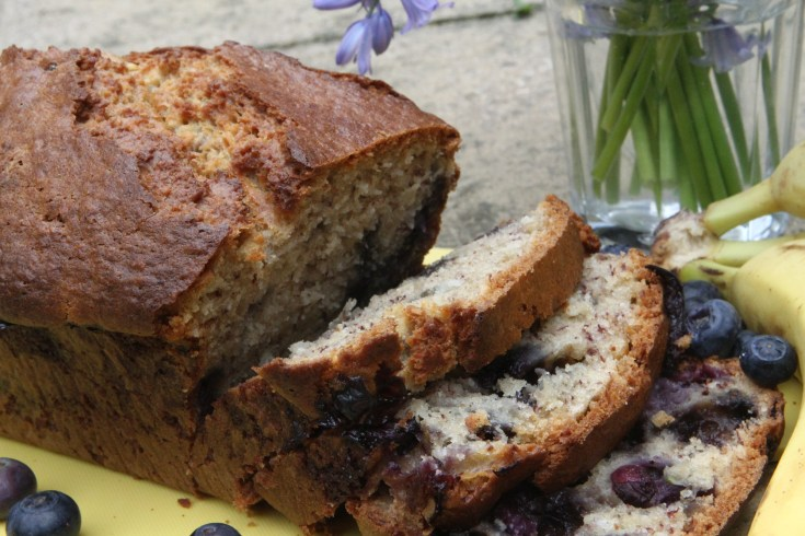 Blueberry & Coconut Banana Bread