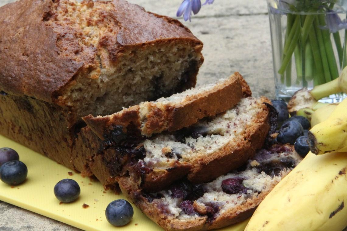 Blueberry & Coconut Banana Bread