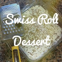 Swiss Roll Dessert...
