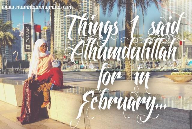alhumdulillah february