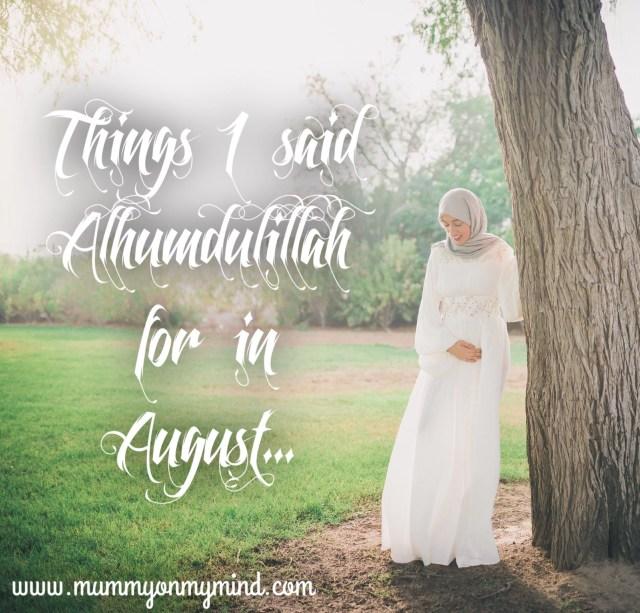 mummyonmymind alhumdulillah