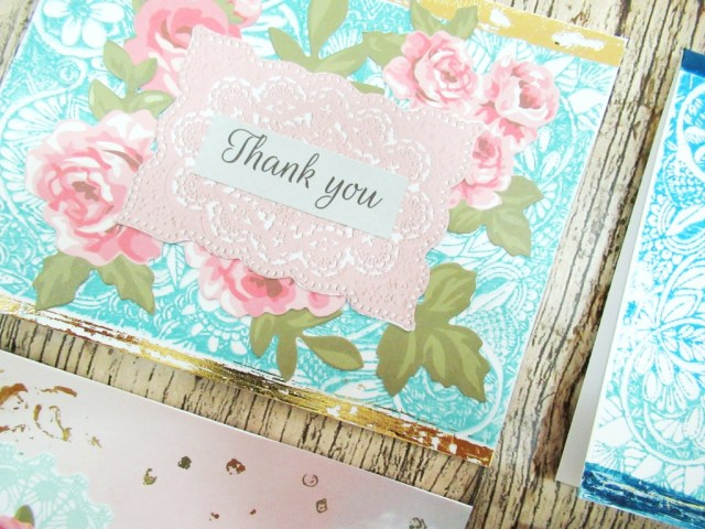 pretty paper studio floral thank you card mummyonmymind