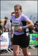 me running Edinburgh marathon