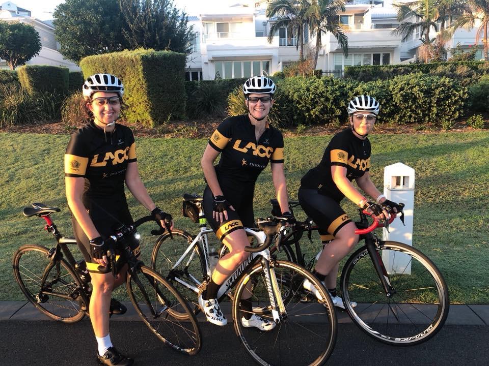 Lidcombe-Auburn Cycle Club women's group ride