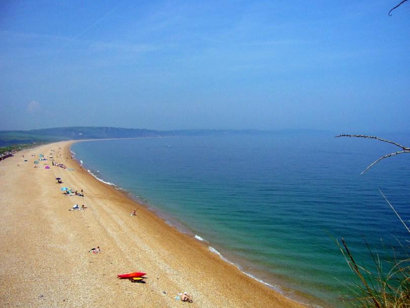 Devon beach - one of my 30 things to do with kids in Devon