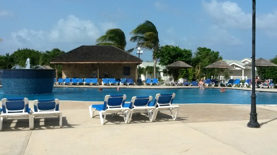 One of the pools at Verandah resort all-inclusive in Antigua