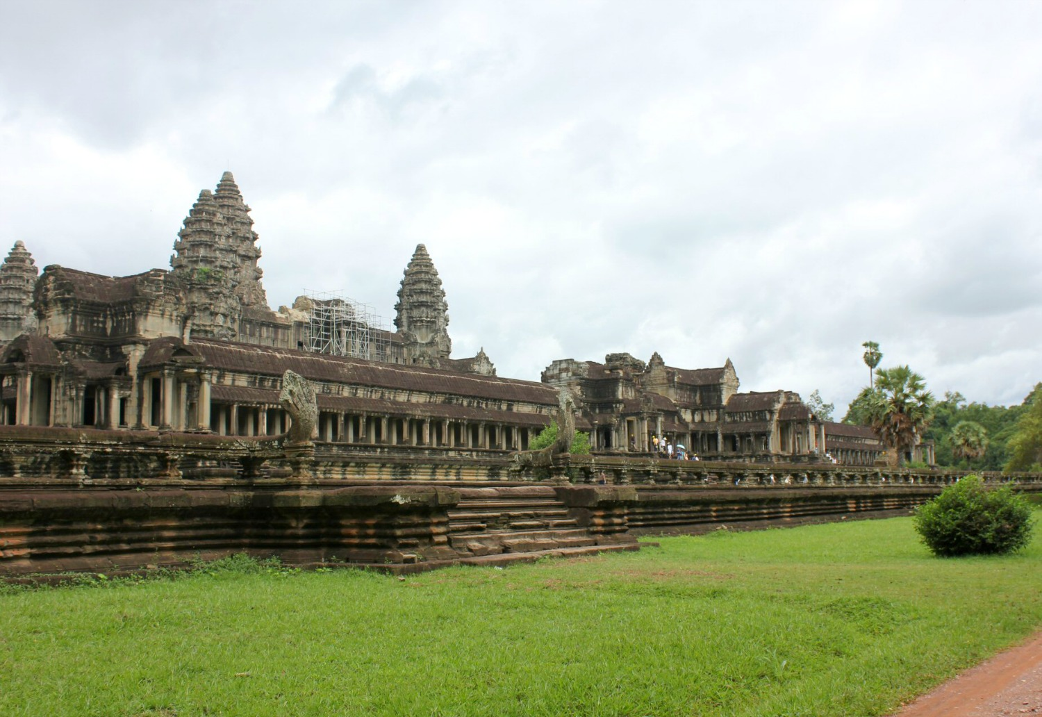 A view of Angkor Wat - 12 reasons to visit Cambodia with kids