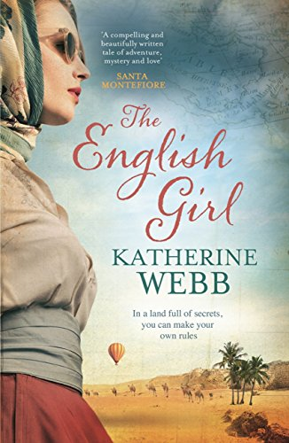 Cover of The English Girl by Katherine Webb - one of my October travel essentials